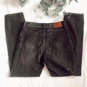 Madewell • the perfect summer jean black wash 26